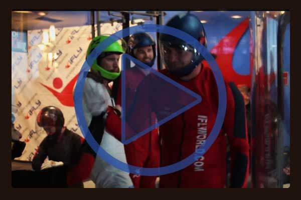Looking for the adrenaline rush of a skydiving jump at your next teenagers birthday party? iFly World offers virtual indoor skydiving experiences at down to earth elevations. Here is video of a virtual skydiving competition held in their Dallas center.